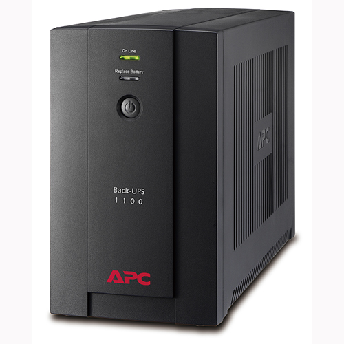 APC Back-UPS 1100VA, 230V, AVR, Universal and IEC Sockets (BX1100LI-MS)