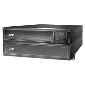 APC Smart-UPS X 1500VA Rack, Tower LCD 230V with Network Card (SMX1500RMI2UNC)
